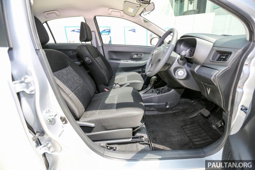 Perodua Bezza dilancarkan, enjin 1.0L VVT-i dan 1.3L Dual VVT-i, harga bermula dari RM37K hingga RM51K Image #522496