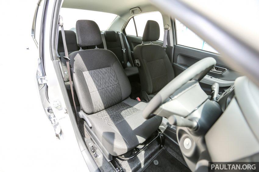 Perodua Bezza – senarai elemen varian demi varian Image #520145