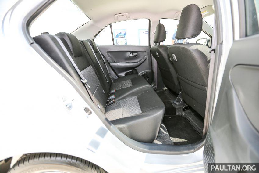 Perodua Bezza – senarai elemen varian demi varian Image #520147