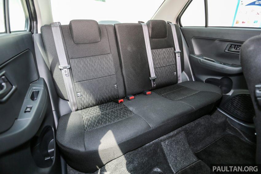 Perodua Bezza – senarai elemen varian demi varian Image #520149