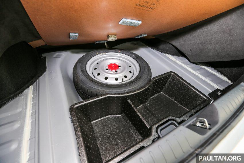 Perodua Bezza – senarai elemen varian demi varian Image #520152