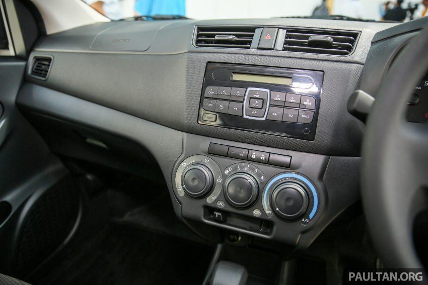Perodua Bezza – senarai elemen varian demi varian Image #520102