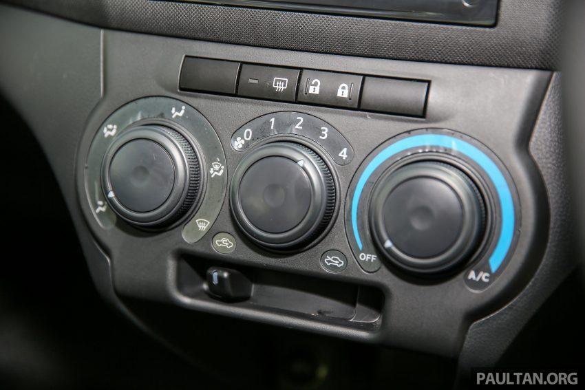 Perodua Bezza – senarai elemen varian demi varian Image #520105