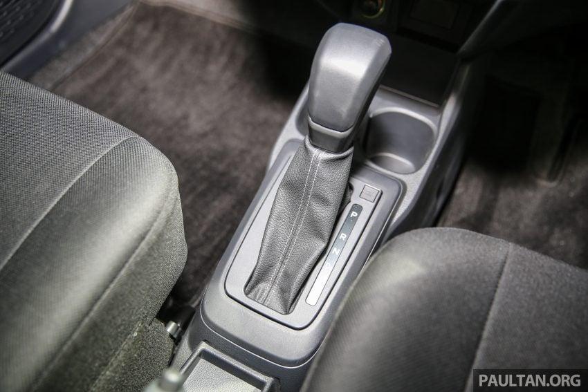 Perodua Bezza – senarai elemen varian demi varian Image #520107