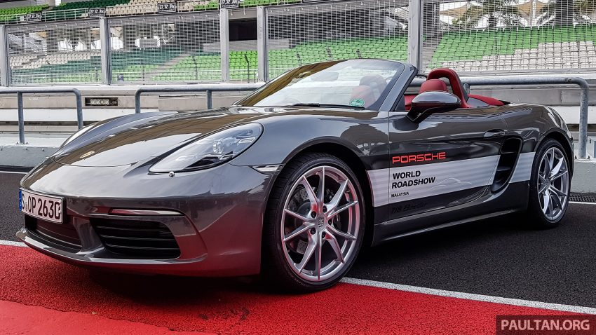 Porsche 718 Boxster previewed in Malaysia at Sepang Image #518987