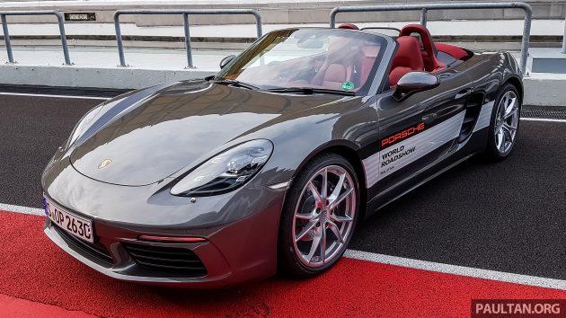 Porsche 718 Boxster preview 2