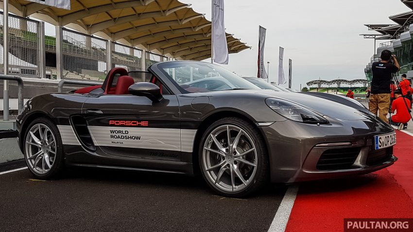 Porsche 718 Boxster previewed in Malaysia at Sepang Image #518989