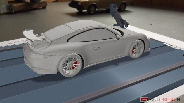 Porsche 911 GT3 facelift leak app 4