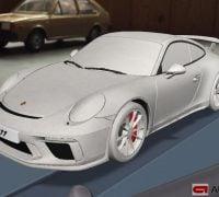 Porsche 911 GT3 facelift leak app 7