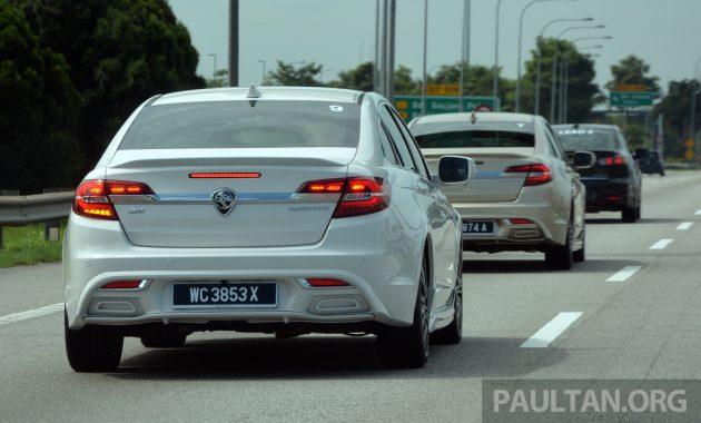 Proton Perdana Test Drive 4