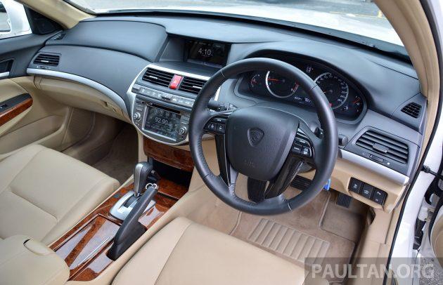 Proton Perdana Test Drive 67