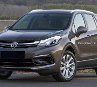 Proton SUV Buick Envision