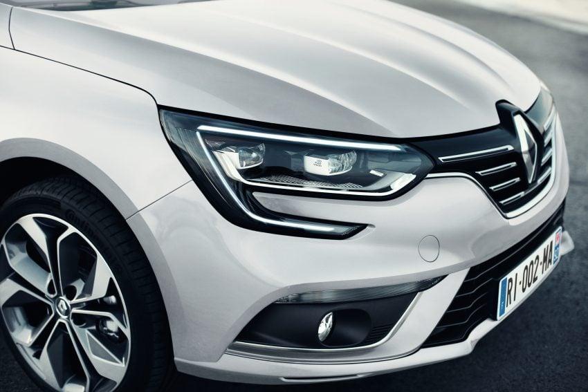 Renault Megane Sedan launched – no more Fluence! Image #517508