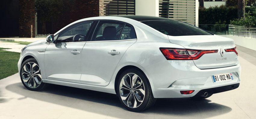 Renault Megane Sedan launched – no more Fluence! Image #517514