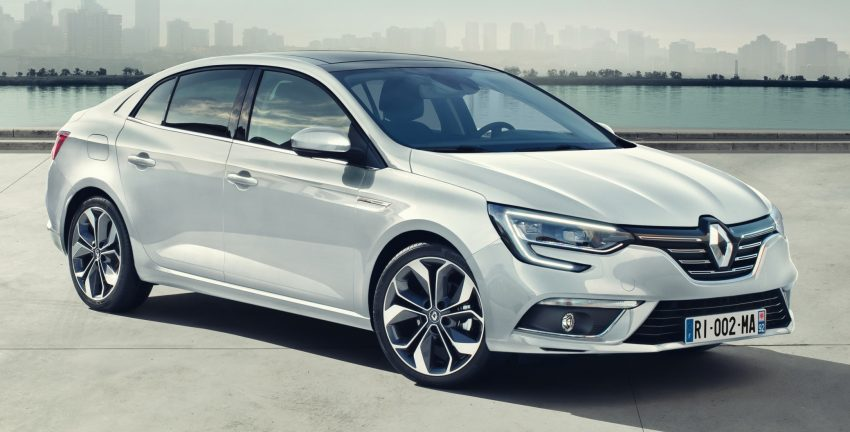 Renault Megane Sedan launched – no more Fluence! Image #517515