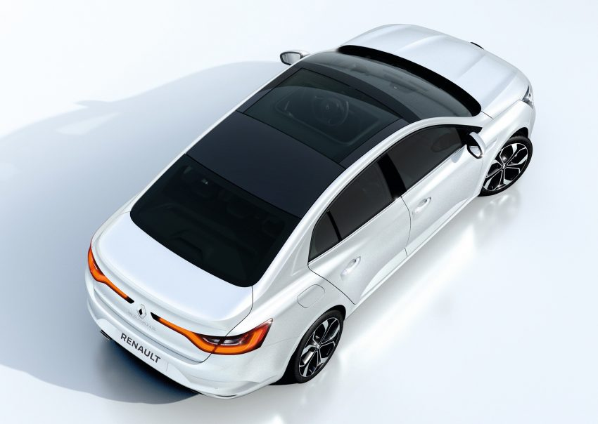 Renault Megane Sedan launched – no more Fluence! Image #517499