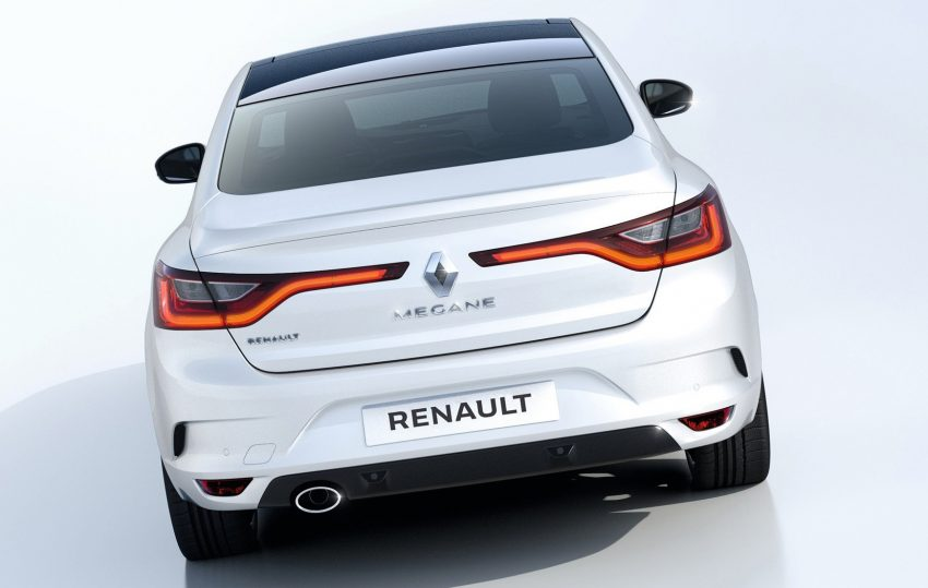 Renault Megane Sedan launched – no more Fluence! Image #517501