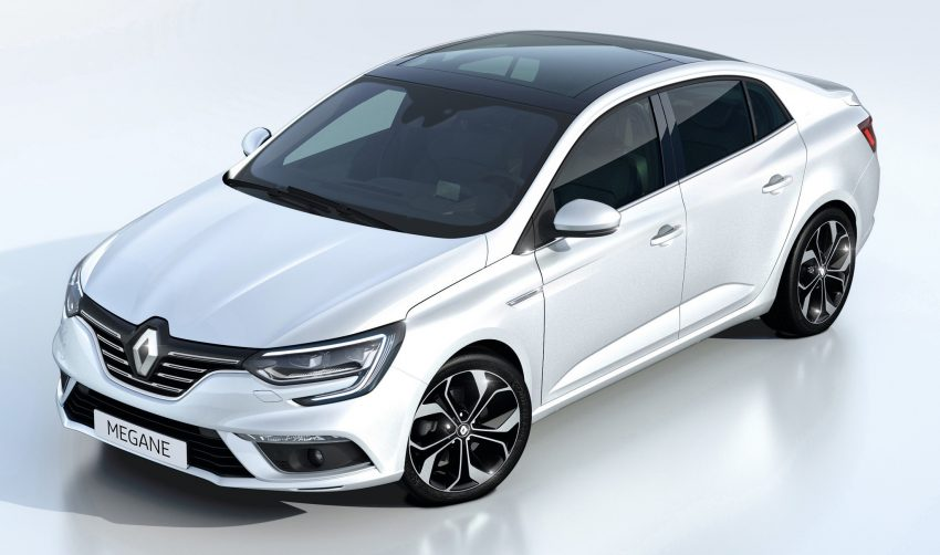 Renault Megane Sedan launched – no more Fluence! Image #517504