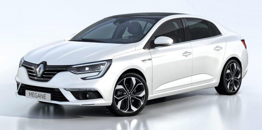 Renault Megane Sedan launched – no more Fluence! Image #517505