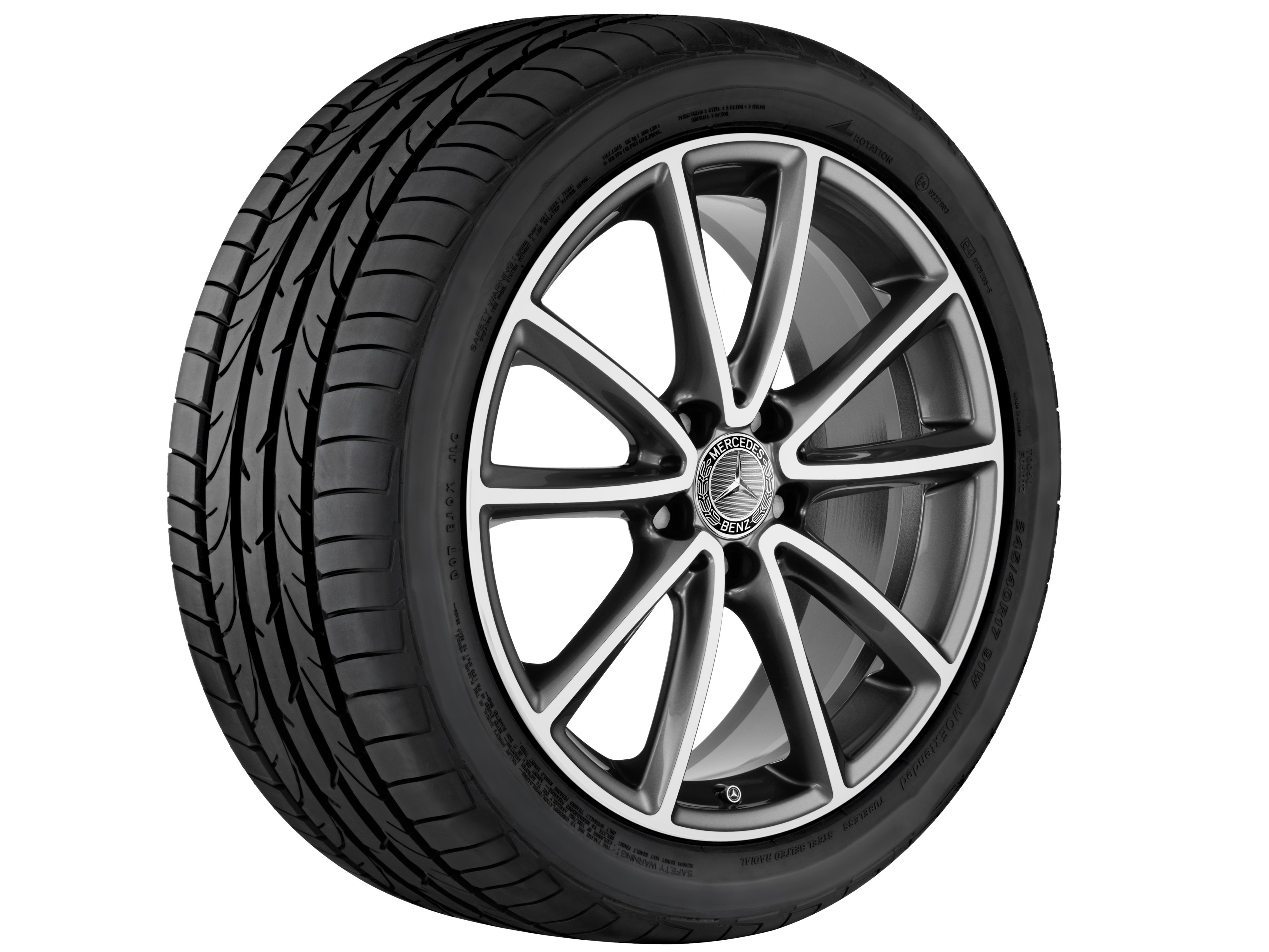 Mercedes benz introduces new alloy wheel collection image for Mag wheels for mercedes benz