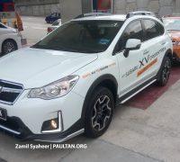 Subaru XV Crosstrek spyshots 2