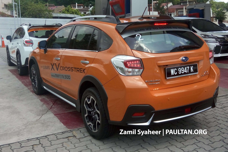 Custom Subaru Crosstrek >> SPIED: Subaru XV Crosstrek adds bodykit – RM143k Paul Tan - Image 522724