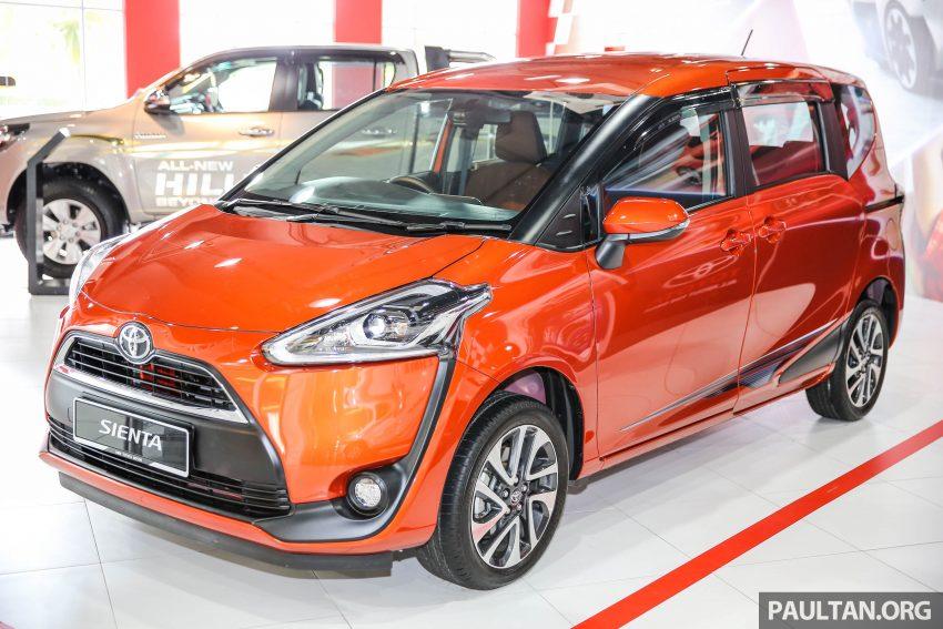 GALERI: Toyota Sienta 2016 di Mitsui Outlet Park Image #516828