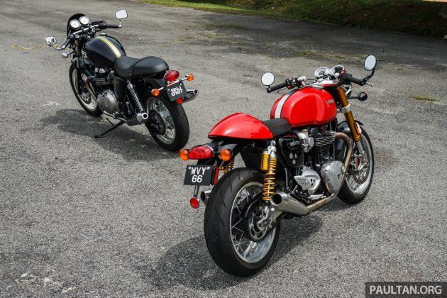 Triumph Thruxton R 116
