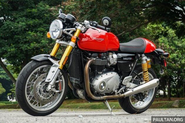 Triumph Thruxton R 53