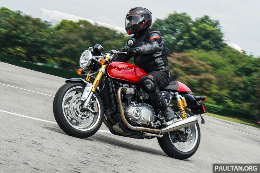 REVIEW: 2016 Triumph Thruxton R – the ultimate retro Image #519424