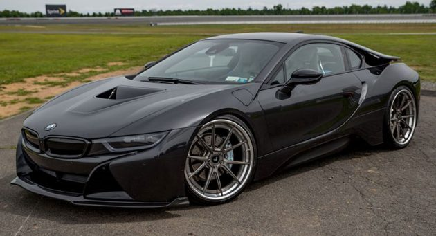 Bmw I8 Given The Blacked Out Treatment By Vorsteiner