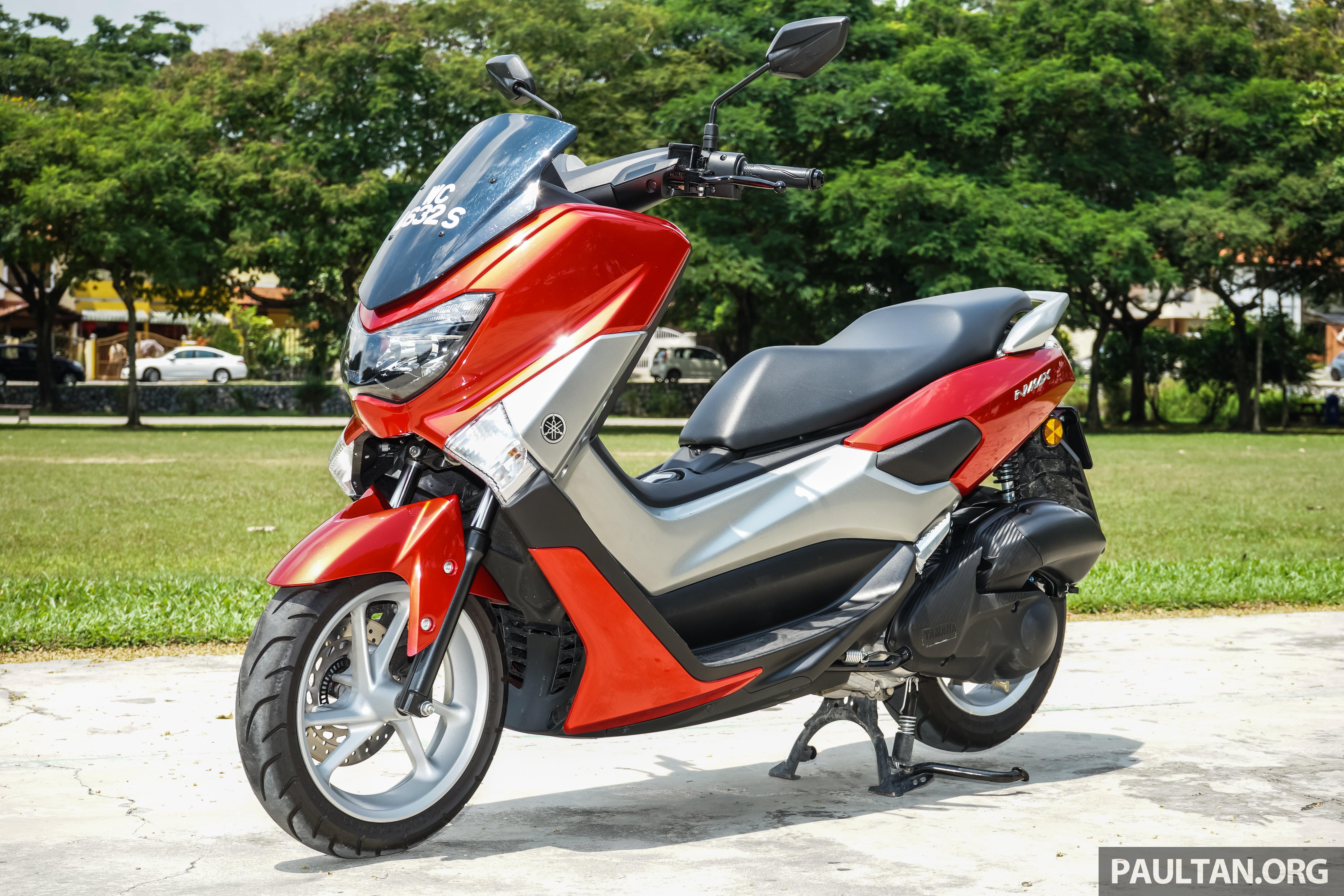 Review 2016 Yamaha Nmax Scooter Pcx150 Killer Paul Tan Image 518045