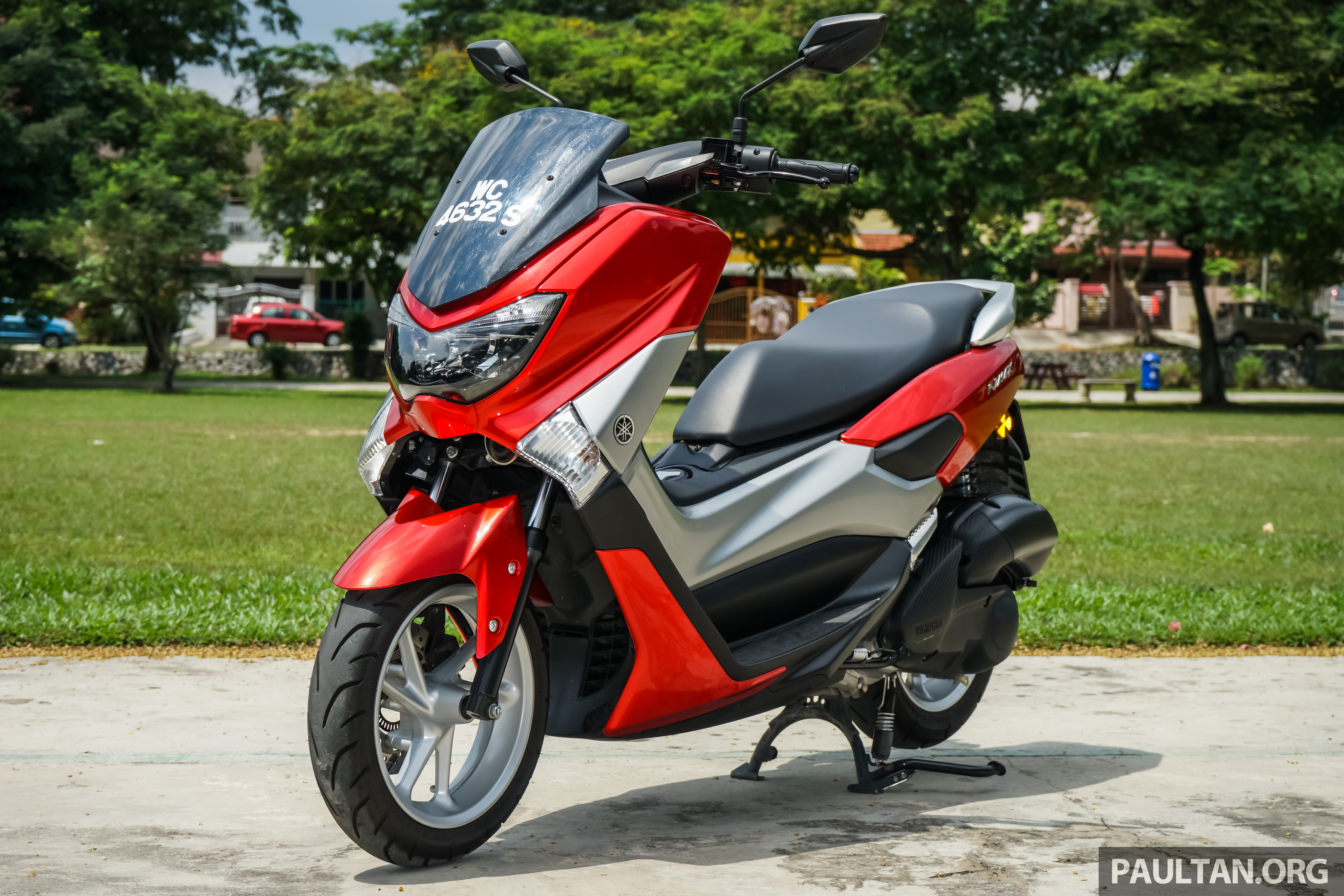 Back to Story: REVIEW: 2016 Yamaha NMax scooter – PCX150 killer?