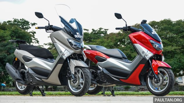 review 2016 yamaha nmax scooter pcx150 killer. Black Bedroom Furniture Sets. Home Design Ideas