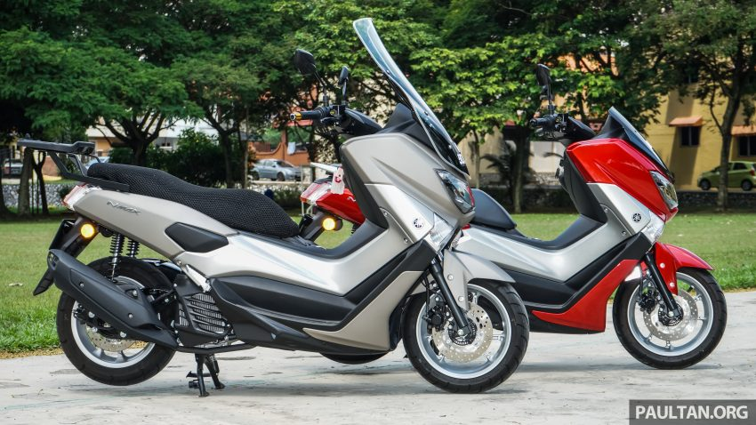 REVIEW: 2016 Yamaha NMax scooter – PCX150 killer? Image #518068