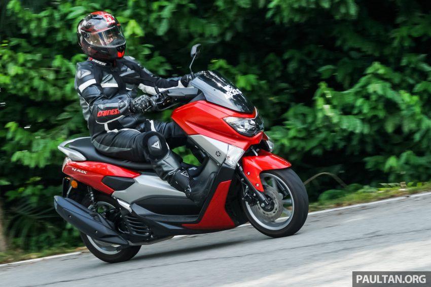 REVIEW: 2016 Yamaha NMax scooter – PCX150 killer? Image #518077