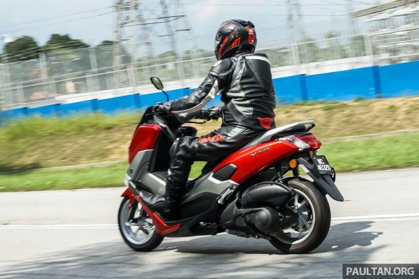 REVIEW: 2016 Yamaha NMax scooter – PCX150 killer? Image #518082