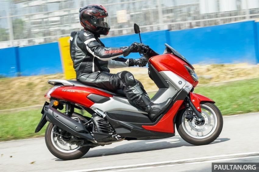 REVIEW: 2016 Yamaha NMax scooter – PCX150 killer? Image #518085