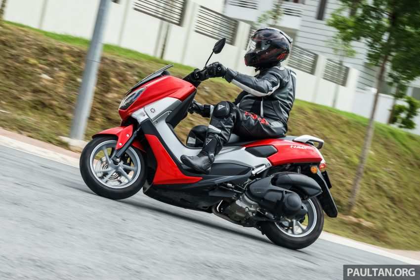 REVIEW: 2016 Yamaha NMax scooter – PCX150 killer? Image #518089