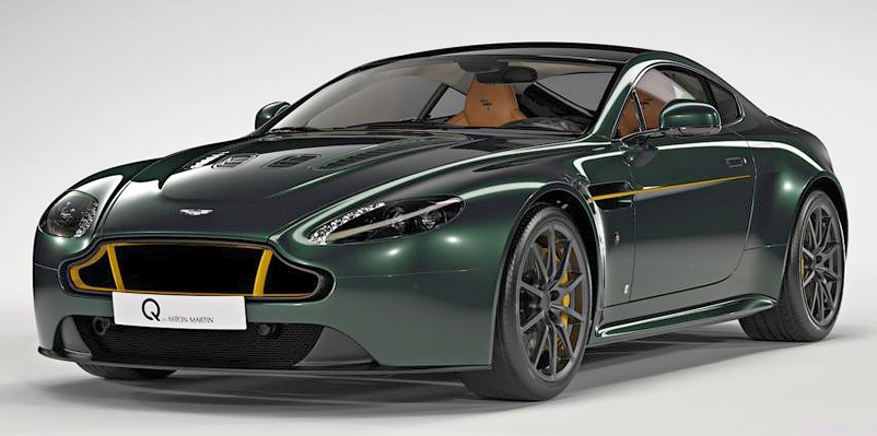 Aston Martin V12 Vantage S Spitfire 80 – limited-edition run pays homage to the historic WW2 fighter Image #519133