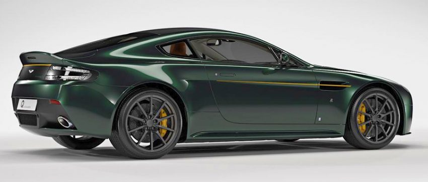 Aston Martin V12 Vantage S Spitfire 80 – limited-edition run pays homage to the historic WW2 fighter Image #519132