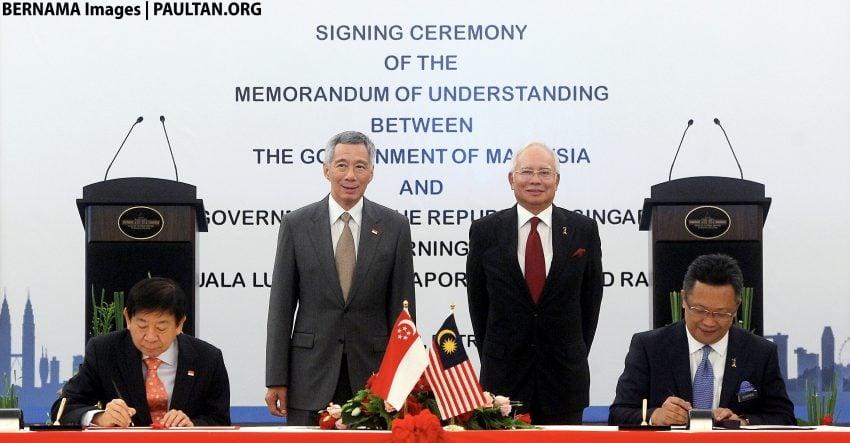 KL-Singapore HSR MoU signed – operational by 2026 Image #521555