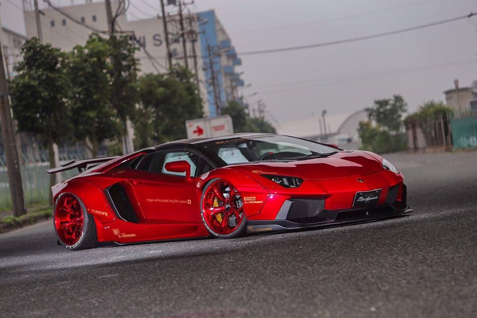 Lamborghini Aventador gets Liberty Walk treatment Paul Tan ...