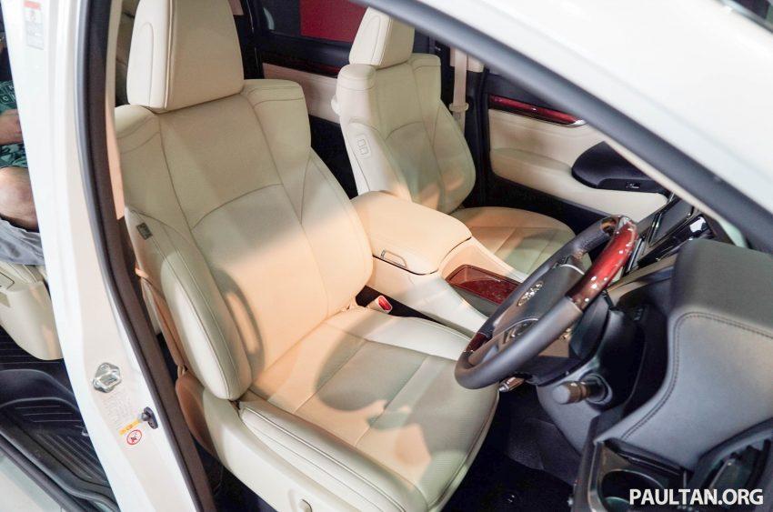 Toyota Alphard dan Vellfire – model spesifikasi Malaysia telah dipamerkan di Mitsui Outlet Park Image #524594