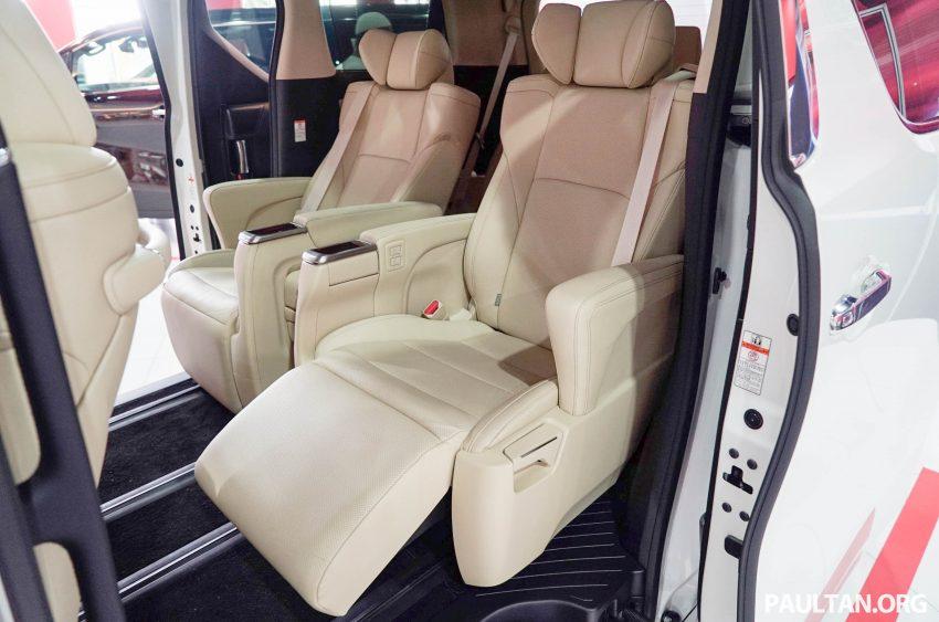 Toyota Alphard dan Vellfire – model spesifikasi Malaysia telah dipamerkan di Mitsui Outlet Park Image #524598