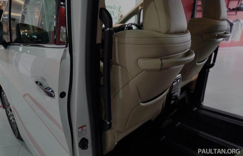 Toyota Alphard dan Vellfire – model spesifikasi Malaysia telah dipamerkan di Mitsui Outlet Park Image #524605