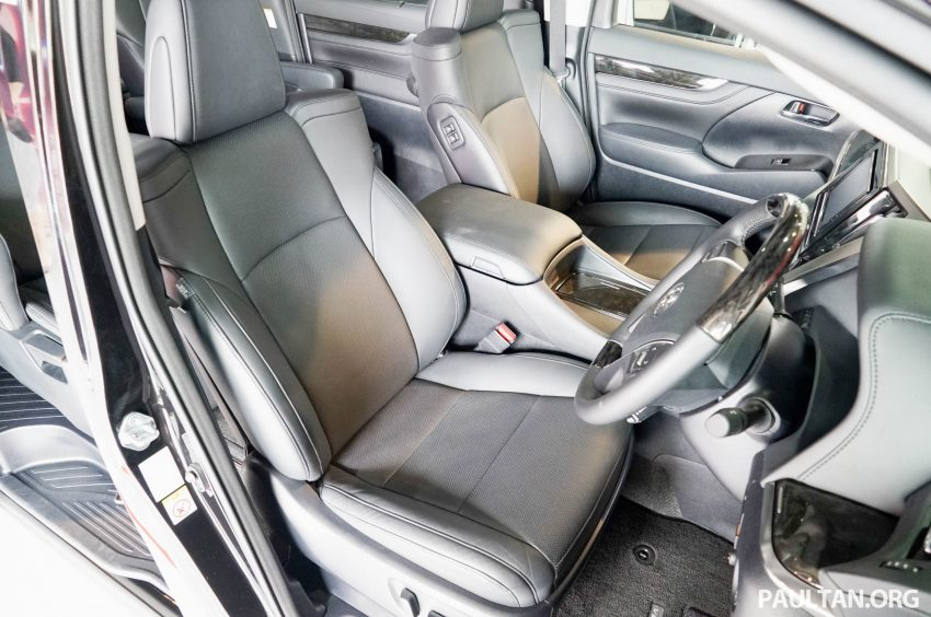 Toyota Alphard dan Vellfire – model spesifikasi Malaysia telah dipamerkan di Mitsui Outlet Park Image #524640
