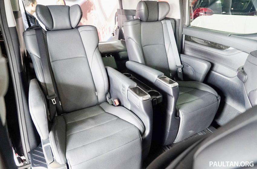 Toyota Alphard dan Vellfire – model spesifikasi Malaysia telah dipamerkan di Mitsui Outlet Park Image #524642