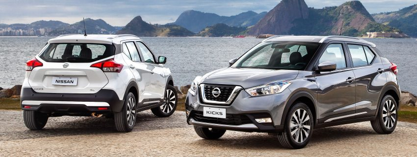 Nissan Kicks – Brazil starts the ball rolling in August Image #525618