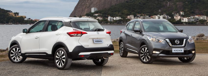 Nissan Kicks – Brazil starts the ball rolling in August Image #525617